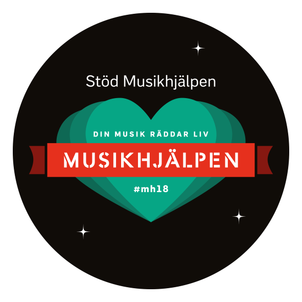 Hjälp oss stödja Musikhjälpen 2018!
